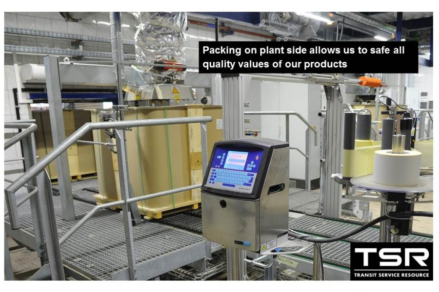 Packing on plant side allows to safe all quality values of products